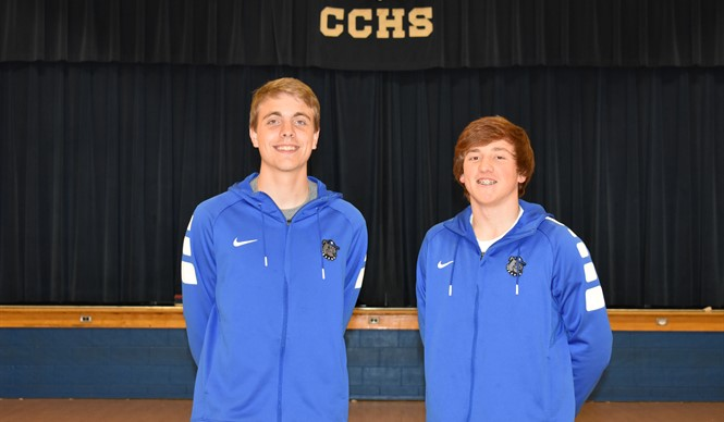 Jackson Harlan is named to the all-state basketball team and Seth Stockton is the leading rebounder in the state!