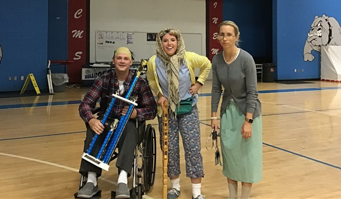 On High Attendance Day, the CCMS Related Arts team won the 2nd annual Lip Sync Contest, for the second year!