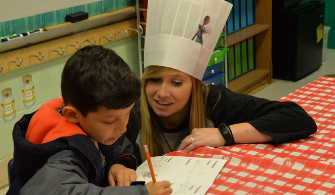 AES hosted a Family Involvement Night with the theme of Spaghetti and Meatballs for All.
