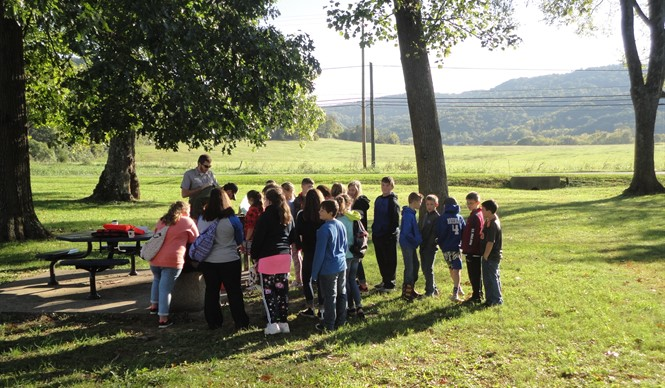 The annual Conservation Outdoor Workshop for fifth graders was held at Mt. View Recreational Park.
