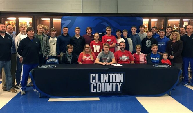 CCHS senior Jackson Harlan has signed with the Western Kentucky University Hilltoppers to play basketball after graduation.