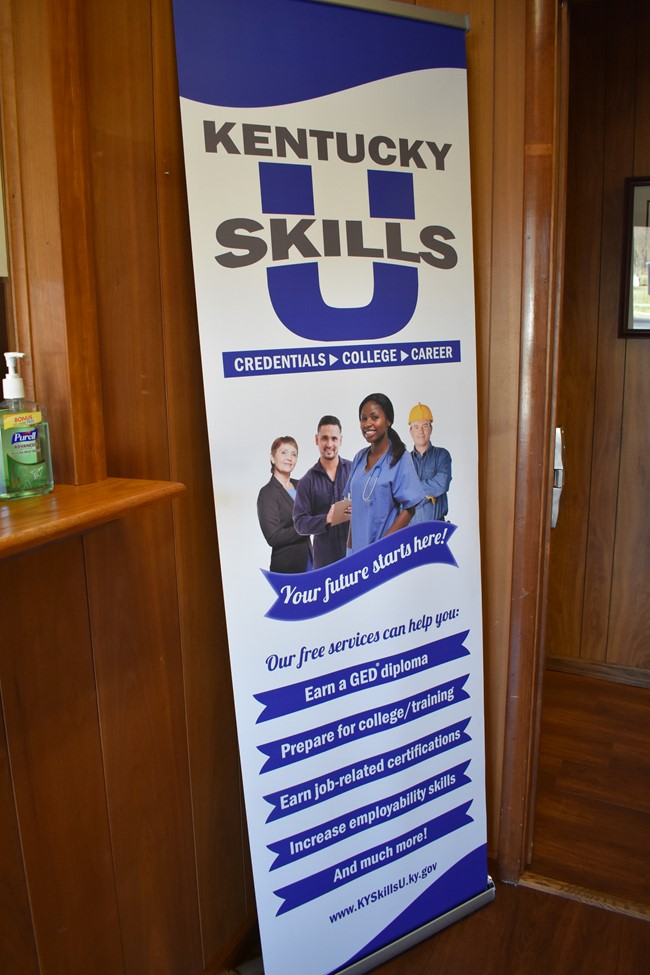 Kentucky Skills U, formerly Adult Education, hosted an Open House on Wednesday, January 9th at the new office location.