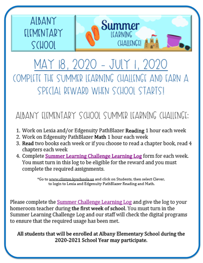AES Summer Learning Challenge 2020