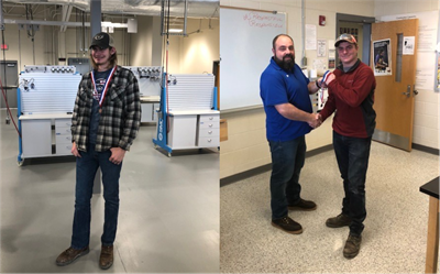Congratulations to SoKy ECCA students Alex Morrison and John Richardson on earning medals at the recent Skills USA competition!