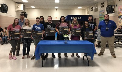 Senior archers were honored at the annual Archery Banquet on Monday, April 8th.