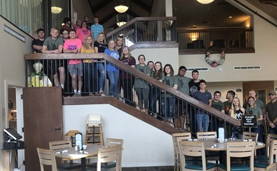 The Clinton County High School Breakfast Club enjoyed breakfast together at Dale Hollow Lake State Park on April 25th.