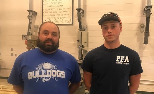 Zach Delk, senior Carpentry student at Southern Kentucky Early College & Career Academy, recently earned the Carpentry Track Pre-Apprenticeship Certification.