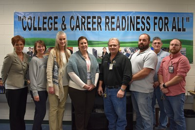 Clinton County Area Technology Center is one of four ATCs in the state that met all the goals in the 2016-18 KY Tech District Continuous Improvement Plan.