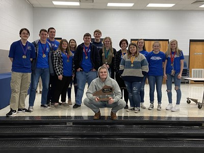 The Clinton County High Academic Team has claimed the championship at District Governor's Cup for the 9th consecutive year!