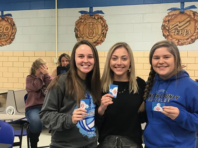 CCHS students who had perfect attendance for the month of October had the opportunity to participate in a real-life CHOPPED competition on Tuesday, November 19th.