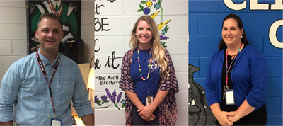 Clinton County Middle School welcomes three new teachers for the 2017-18 school year.