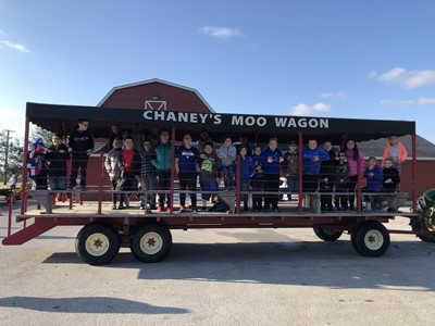 On October 16th, Gifted & Talented students at AES were transported to Chaney's Dairy Barn in Bowling Green, Kentucky.
