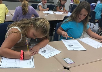 Third grade students in Ms. Mindie Anderson's and Mrs. Samantha Blackaby's classes have been learning about the Great Depression and what life was like during this time.