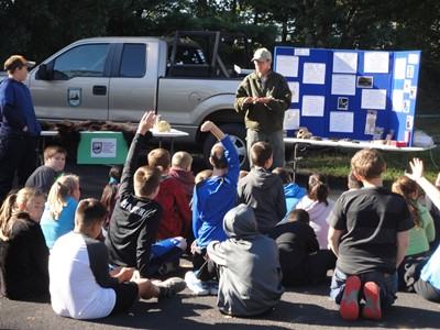 The annual Conservation Outdoor Workshop for fifth graders was held Friday, October 12, 2018 at Mt. View Recreational Park.