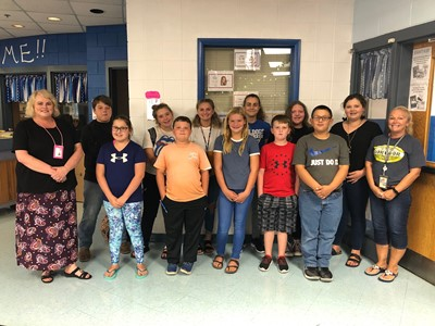 The Clinton County Middle School Drug Busters Club had their first meeting of the year on August 28th.