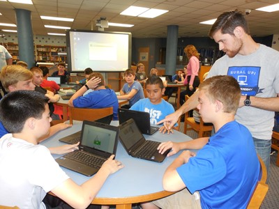 Students at CCMS had the opportunity to participate in Rural Up Computer Coding Academy on Tuesday, April 11th.