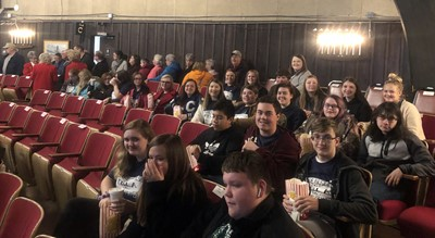 "On November 14th, FBLA members and local chapter Advisor Mrs. Lora Grant enjoyed the day together eating breakfast at Shoney's Restaurant and watching ""The Elf Musical"" at Cumberland County Playhouse in Crossville, Tennessee."
