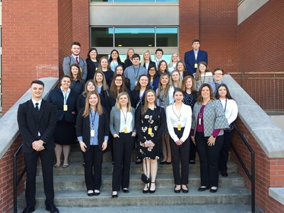 On Friday, March 15, 2019, thirty-one members of Clinton County Area Technology Center's Future Business Leaders of America chapter traveled to Western Kentucky University to compete in the Region 2 Leadership Conference.