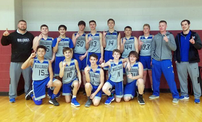Congratulations to the CCHS Boys Freshman Basketball Team on winning the 16th District Tournament!