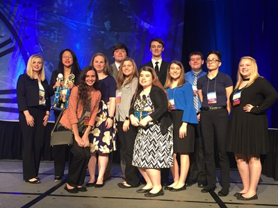 On April 16-18, 2018, twelve members of Clinton County Area Technology Center's chapter of Future Business Leaders of America attended the State Leadership Conference.