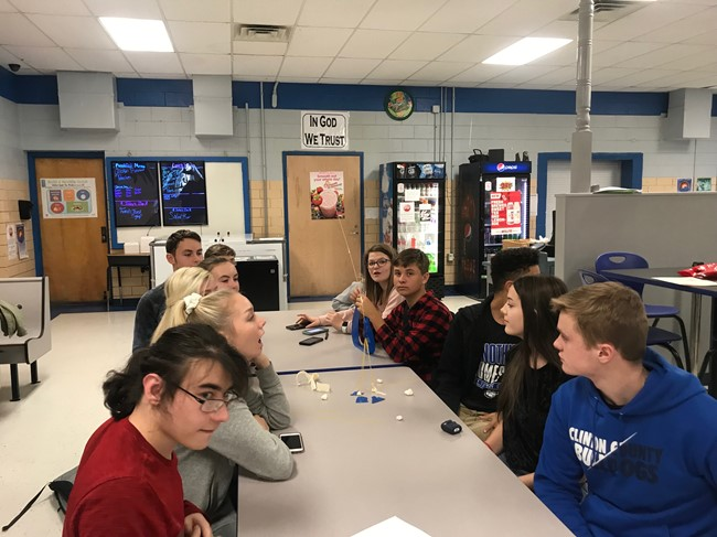 Students at CCHS who are in the Gifted & Talented program, and students who are interested in pursuing a career in education enjoyed a workshop with WKU Associate Professor Beckie Stobaugh on November 19th.