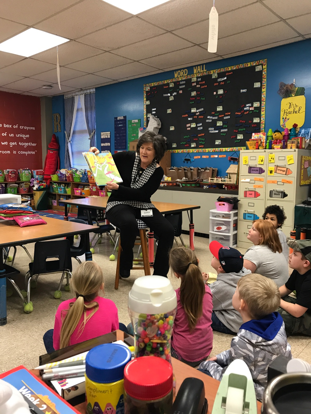 On March 4, 2019,  guest readers from the Clinton County Retired Teachers Association read to students at Albany Elementary School to help celebrate AES Read Across America Week.