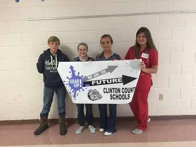 Students at CCMS and CCHS celebrated college and career readiness during GEAR UP Week!