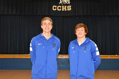 Seth Stockton is the leading rebounder in the state and Jackson Harlan is named to all-state basketball team!