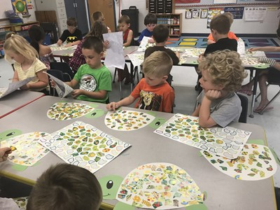Students who will be in preschool or kindergarten at ECC during the 2018-19 school year have been participating in the Jump Start summer school program.