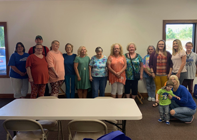 The September Clinton County KINnections meeting was held on September 25th at the Welcome Center.