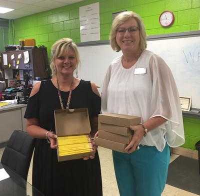 Clinton County Schools Psychometrist and Special Education Liaison Melissa Campbell participated in an online panel discussion for the I3 Get the Picture! program and earned 500 pencils for CCHS!