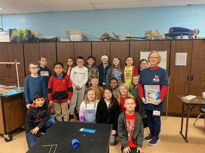 Albany Elementary School would like to thank the Clinton County Retired Teacher's Association for being Guest Readers on Friday, March 6th!