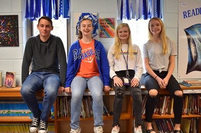 Four students from Clinton County Middle School were selected to be participants in the Rogers Explorers Program this summer.