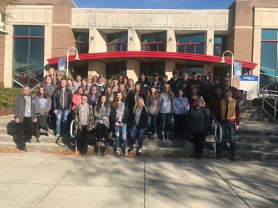 Students from Southern Kentucky Early College & Career Academy recently enjoyed a visit to Somerset Community College.