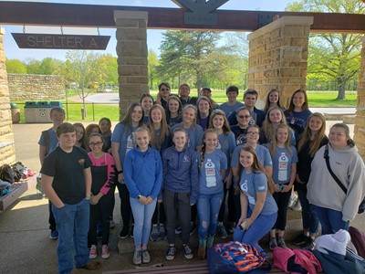 Members of the Clinton County High School Science Club took a tour of Mammoth Cave on April 24th.