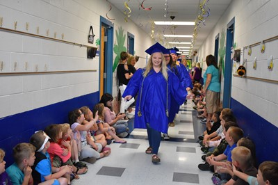 On Wednesday, May 15, 2019 - the last day of school - the Clinton County High School graduating class visited ECC, AES, & CCMS for their Senior Walk! Watch the video at this link!