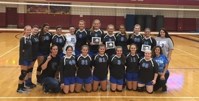 "The CCHS Volley Dawgs are the 4th Region All ""A"" Tournament Champs!"