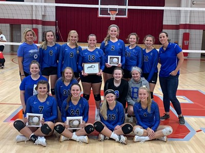 "Congratulations to the CCHS VolleyDawgs on winning the All ""A"" Class 4th Region Championship for the third year in a row!!!"