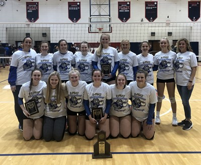Congratulations to the CCHS VolleyDawgs - 16th District Champs three years in a row!!!
