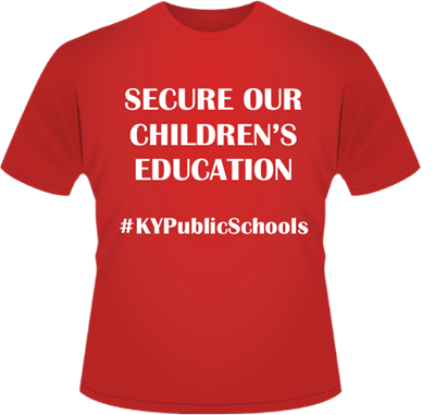 Wear Red to support the pension t-shirt.