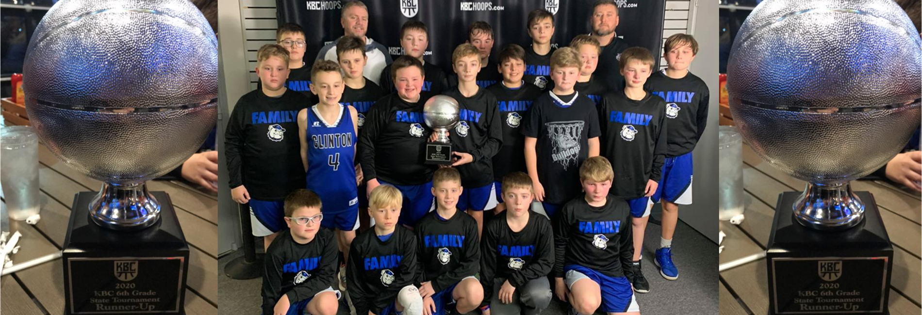 The CCMS 6th Grade Boys Basketball Team was Runner-Up in the KBC State Championship!