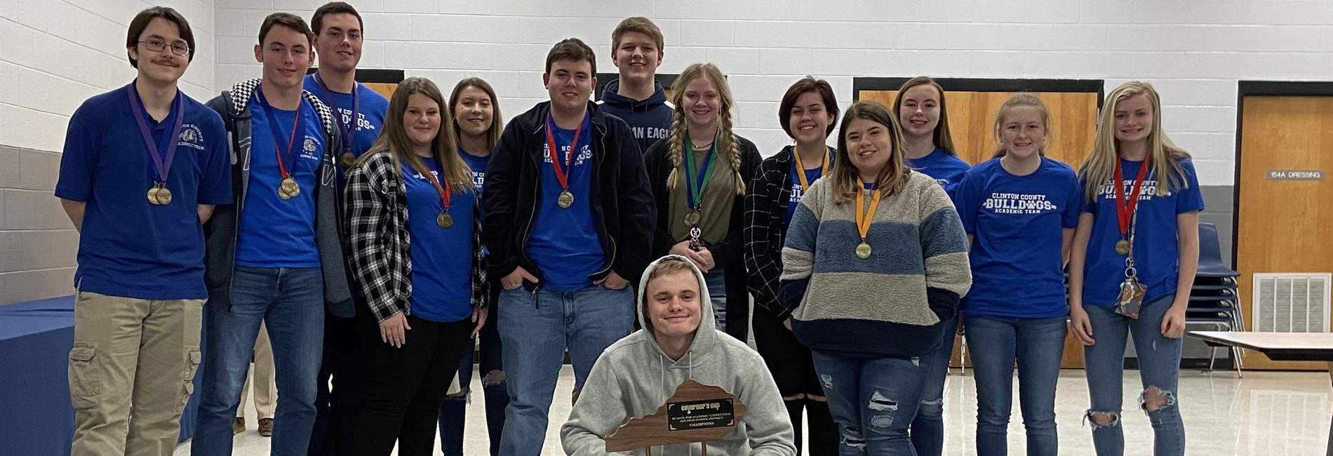 The CCHS Academic Team claimed the championship at District Governor's Cup for the 9th consecutive year!