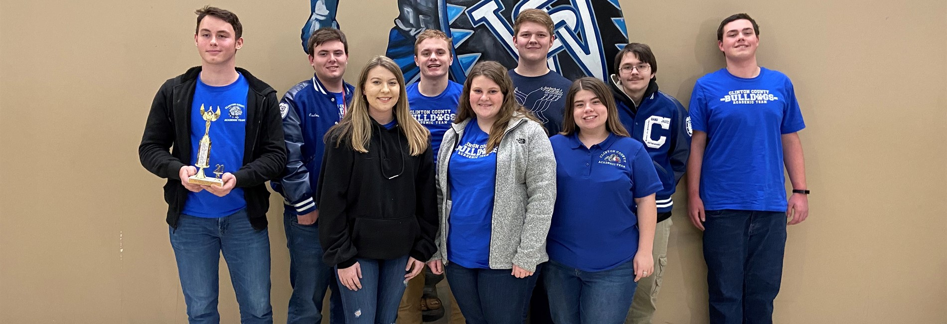 The CCHS Academic Team placed 5th overall out of 15 schools in the Regional Governor's Cup Competition.