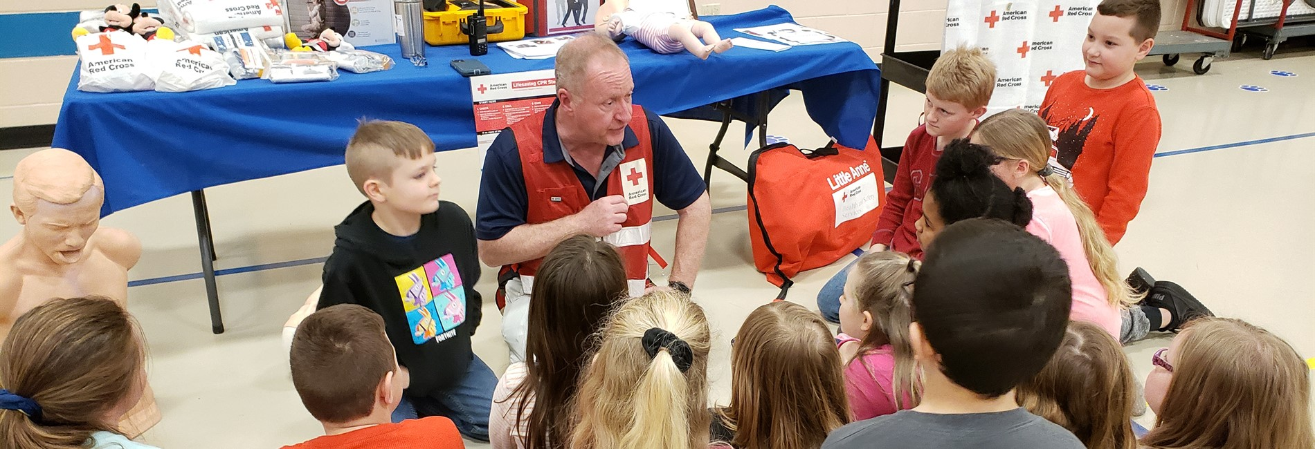 Albany Elementary School students participated in the annual Health Fair.
