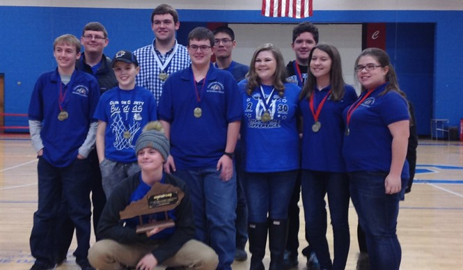 CCHS Academic Team wins District Governor's Cup!