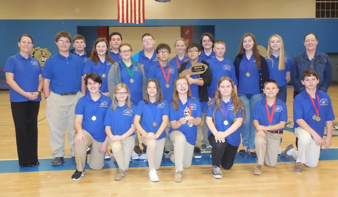 CCMS Academic Team wins District Governor's Cup!