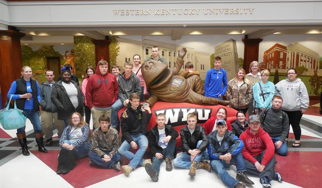 CCHS students attend the annual Quiz Bowl at WKU.