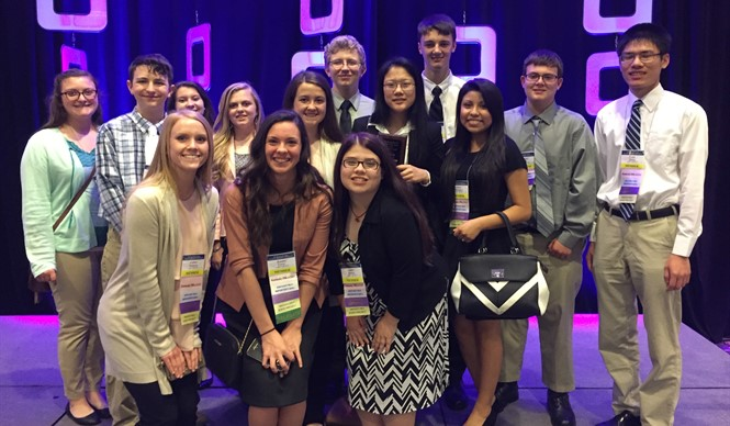 CCATC FBLA members attend and compete at State Leadership Conference.