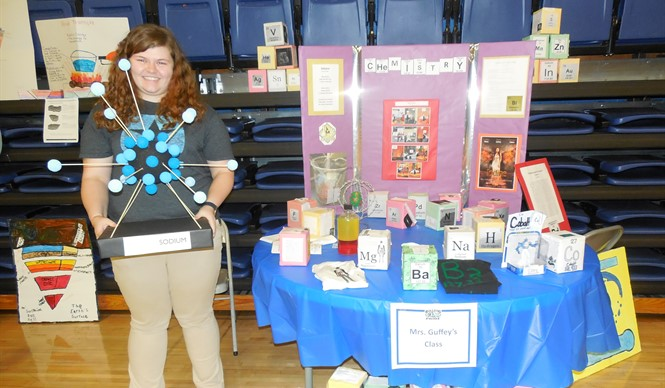The annual CCHS Academic Showcase celebrated student work across all content areas.