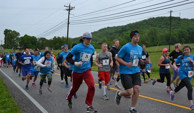 The 4th annual Healthy Hometown 5K Run for the Roses was held on Saturday, May 6th.